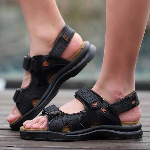 Men Sport Beach Sandals Fisherman Breathable Casual Magic Stick Shoes