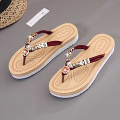 Women Summer Beach Flat Sandals