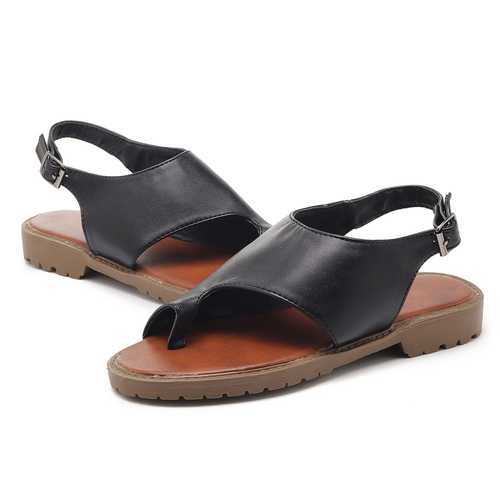 US Size 5-12 Adjustable Buckle Women Casual Sandals