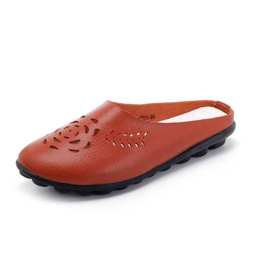 US Size 5-12 Hollow Casual Comfortable Flat Sandals