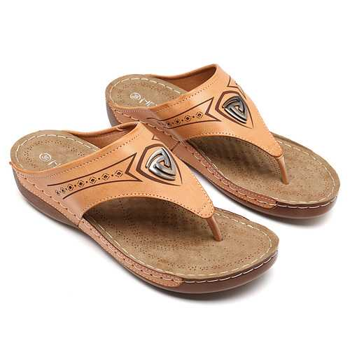 Women Soft Casual Beach Flip Flops Flat Sandals