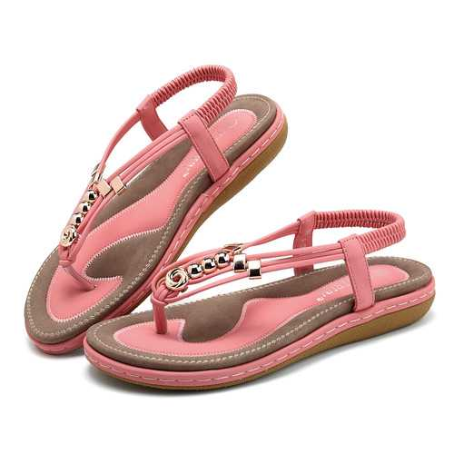 US Size 5-13 Bohemian Comfortable Casual Flat Sandals