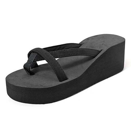 Large Size Wedge Platform Sandals Casual Beach Slippers