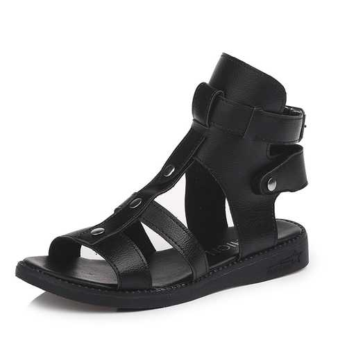Roman Gladiator Flat Casual Comfy Summer Sandals