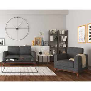 Archer Loveseat and Chair Living Room Set - SunHaven Home