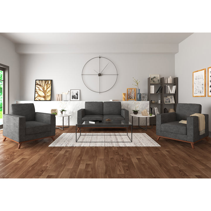 Archer Loveseat and 2 Chair living room set