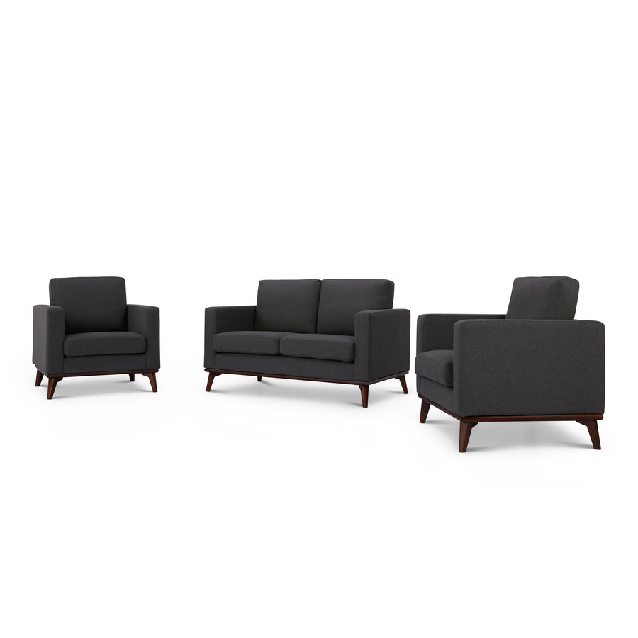 Archer Loveseat and 2 Chair living room set - SunHaven Home