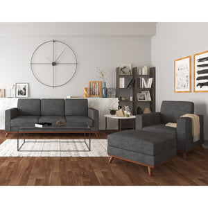 Archer Sofa, Chair and ottoman living room set - SunHaven Home