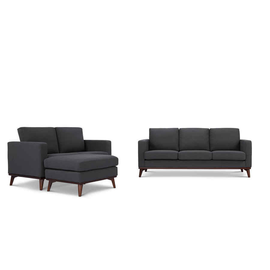 Archer Sofa, Loveseat and Ottoman living room set