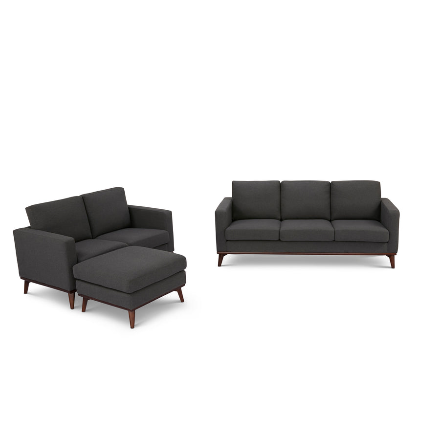 Archer Sofa, Loveseat and Ottoman living room set - SunHaven Home