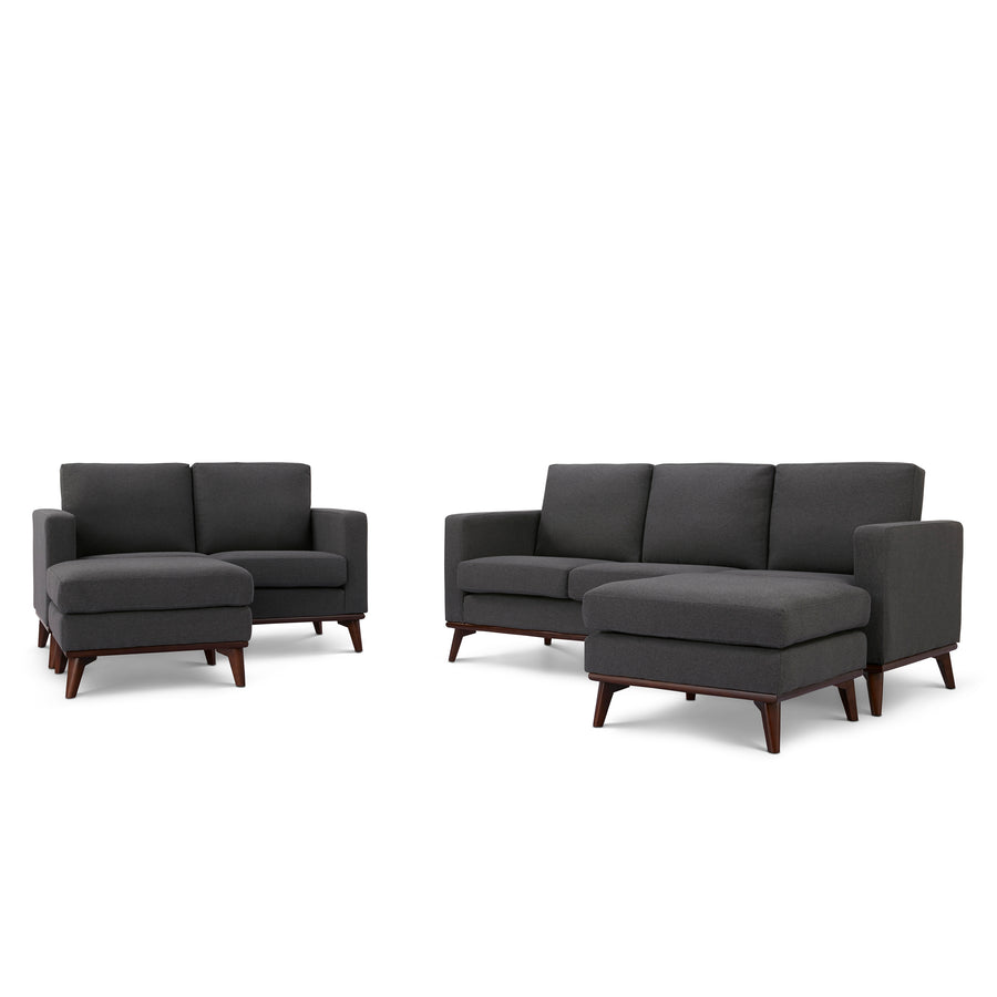 Archer Sofa, Loveseat and 2 Ottoman living room set - SunHaven Home