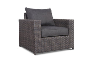 Cromwell 9 Piece Outdoor Wicker Sectional Set