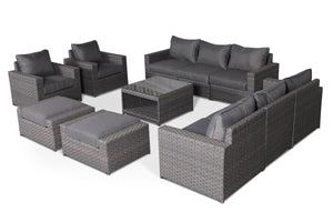 Cromwell 11 Piece Large Sofa Set