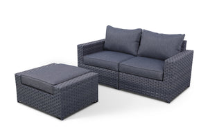 Cromwell Loveseat and Ottoman Set