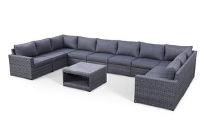 Cromwell 11 Piece Large Modular Sectional Set