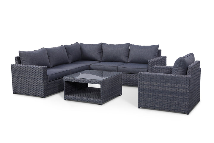 Cromwell 7 Piece Sectional Set