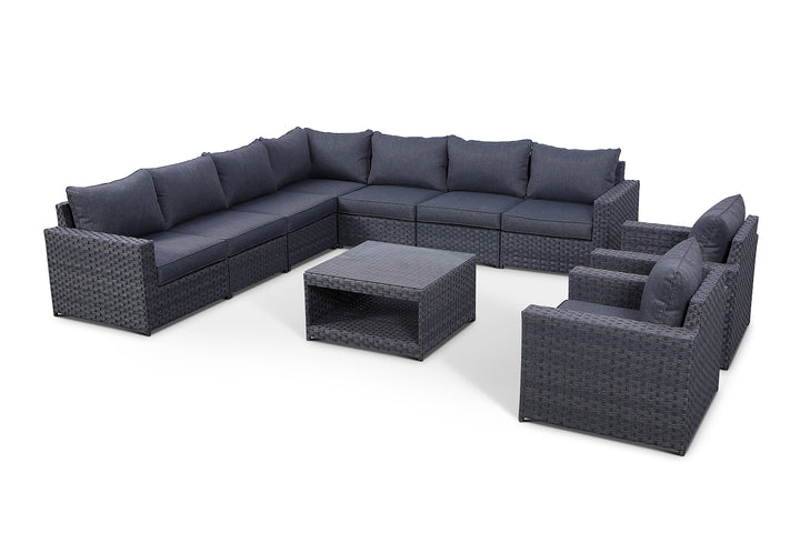 Cromwell 10 Piece Large Sectional Set
