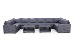 Cromwell 12 Piece Large Modular Sectional Set