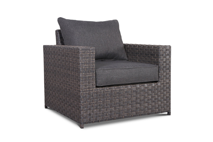 Cromwell Outdoor Wicker Club Chair