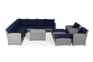 Stamford Navy 12 Piece Conversation Set