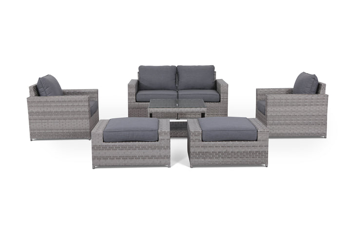Kensington Grey 7 Piece Conversation Set
