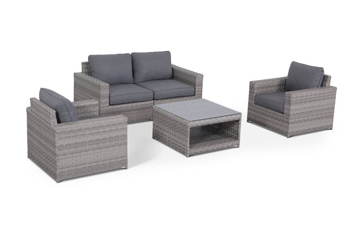 Kensington Grey 5 Piece Conversation Set