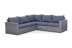 Kensington Grey 5 Piece Sectional