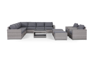 Kensington Grey 12 Piece Large Sectional Set