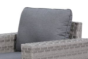 Kensington Grey Club Chair Back Cushion