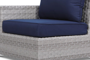Kensington Navy Sofa Seat Cushion