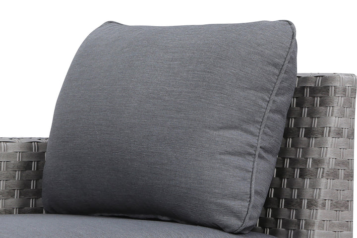 Kensington Grey Sofa Back Cushion