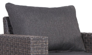 Cromwell Dark Grey Club Chair Back Cushion - SunHaven Home