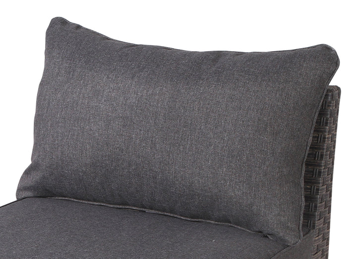 Cromwell Dark Grey Sofa Back Cushion - SunHaven Home