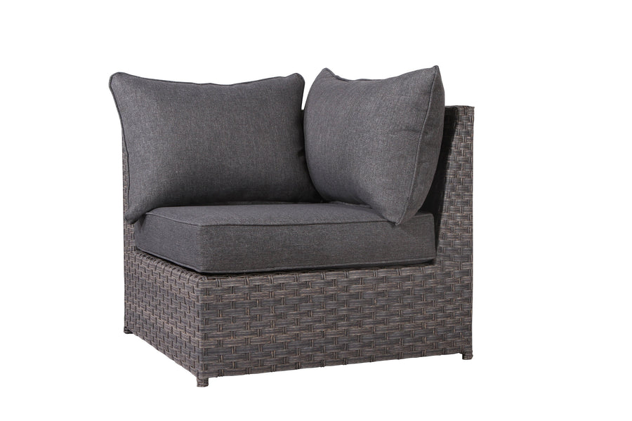 Cromwell Dark Grey Sofa Seat Cushion - SunHaven Home