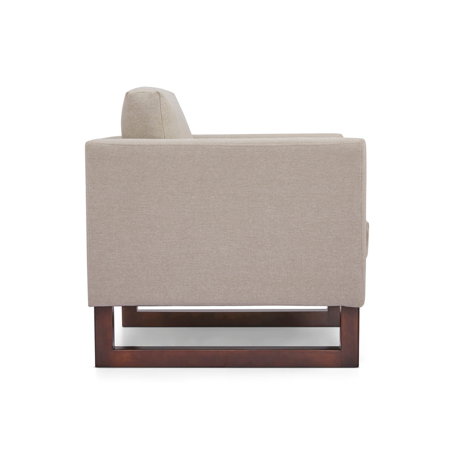 Hayden Accent Chair and Ottoman - SunHaven Home