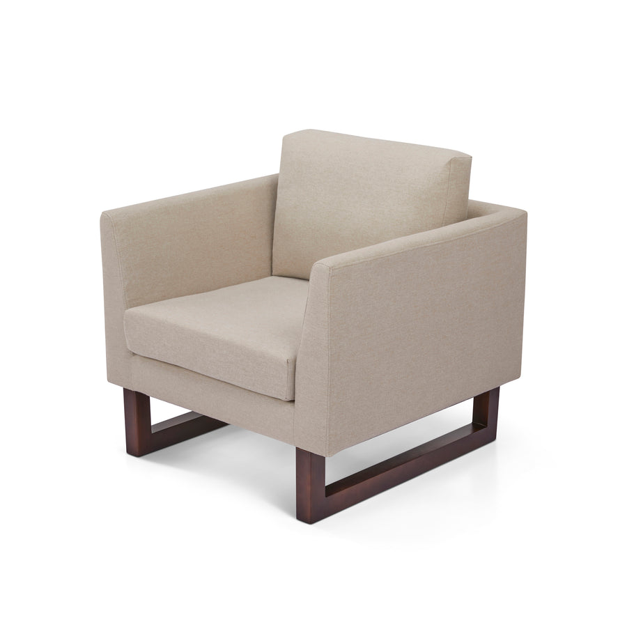 Hayden Accent Chairs and Ottomans - 4 piece set