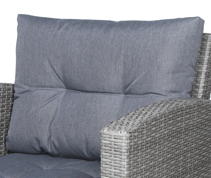 Stamford Grey Club Chair Back Cushion - SunHaven Home