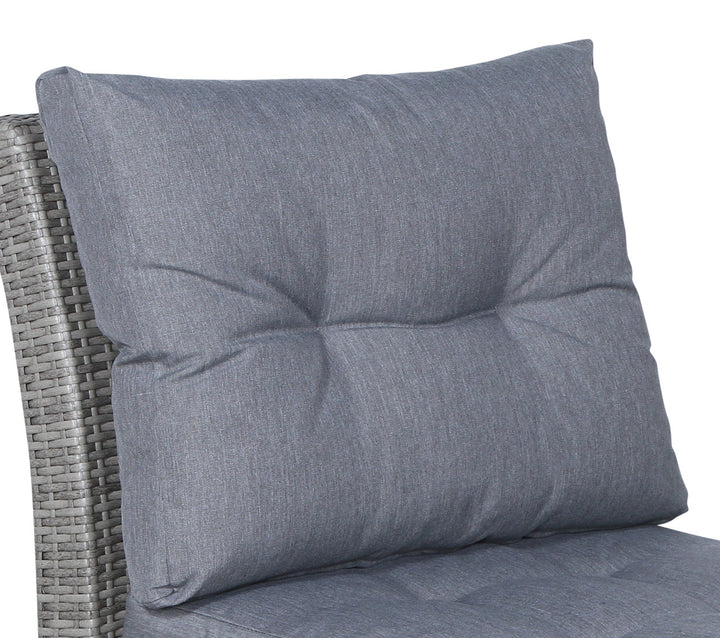 Stamford Grey Sofa Back Cushion - SunHaven Home