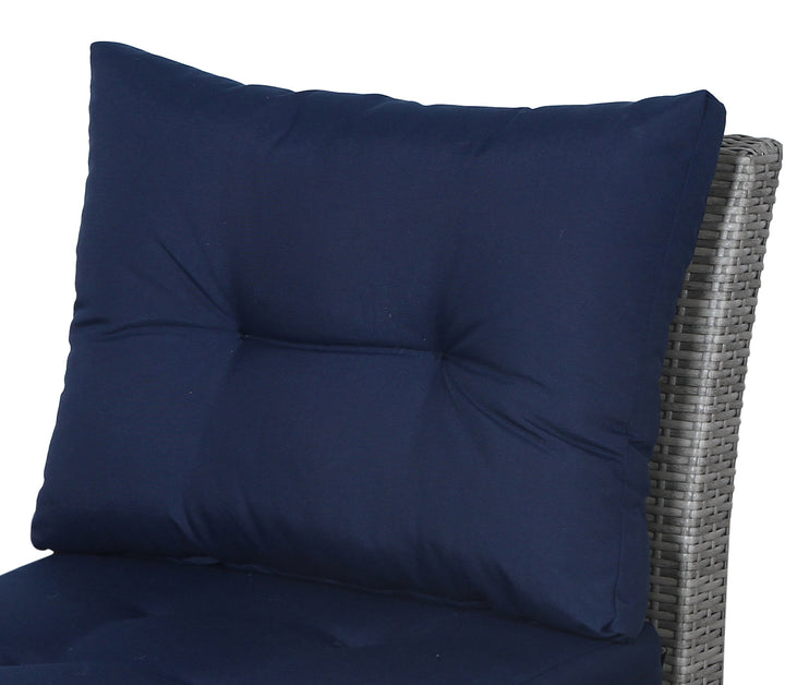 Stamford Navy Sofa Back Cushion - SunHaven Home