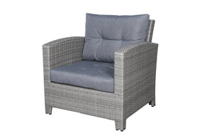 Stamford Grey Club Chair Seat Cushion - SunHaven Home
