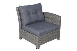 Stamford Grey Sofa Seat Cushion - SunHaven Home
