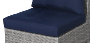 Stamford Navy Sofa Seat Cushion - SunHaven Home