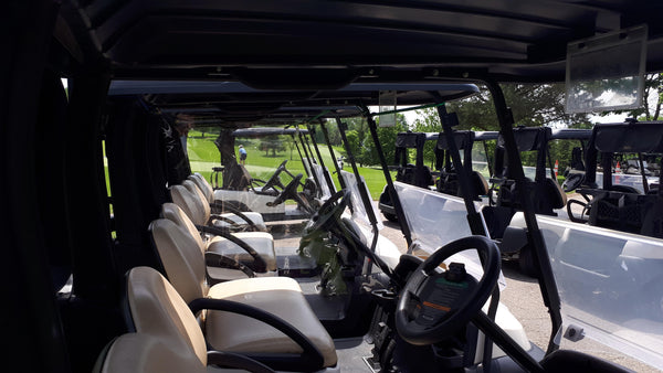 Golf Cart Dividers