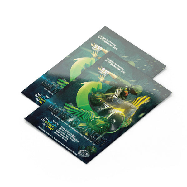 Flyers, Brochures, Posters & Door Hangers