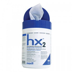 Hard Surface Disinfectant Wipes - 160 Wipe Container