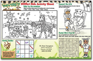 Sqwiggly® Zoofari Kids Activity Sheets