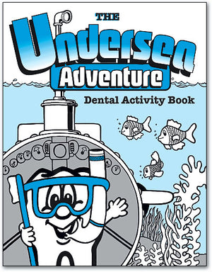 Undersea Adventure Dental Activity Book - Personalised