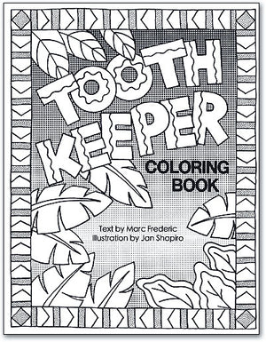 Tooth Keeper Colouring Book - Personalised