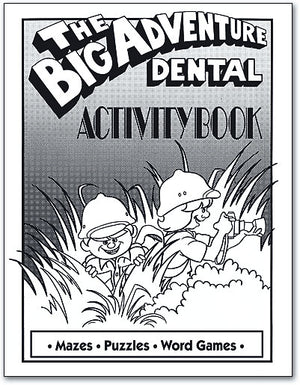 The Big Adventure Dental Activity Book - Personalised