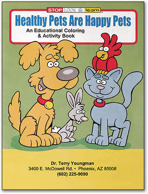 Healthy Pets Coloring Book